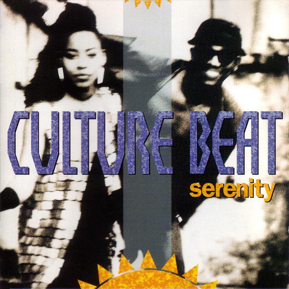Culture Beat's 1993 'Serenity' album cover