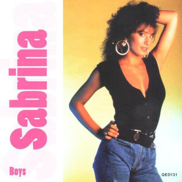 Sabrina Salerno - Boys (1988) album cover