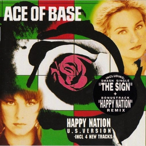 Ace Of Base - Happy Nation (US Version) (1993) album