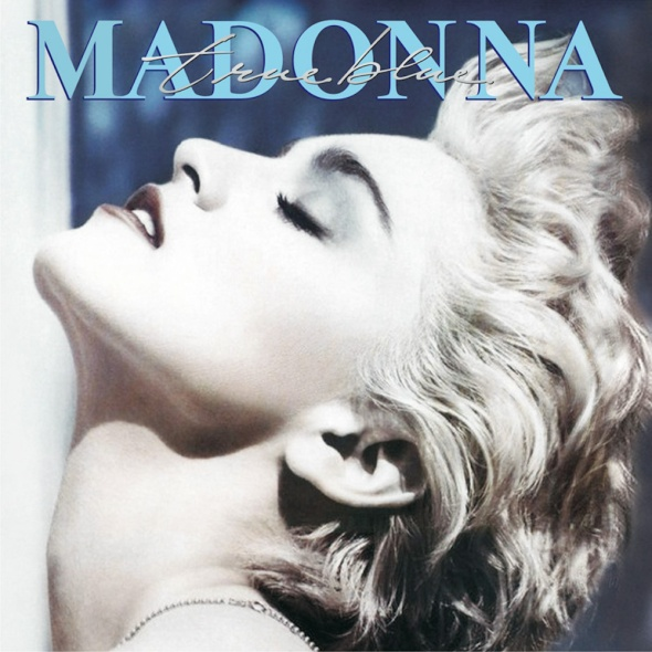 Madonna's 'True Blue' album cover