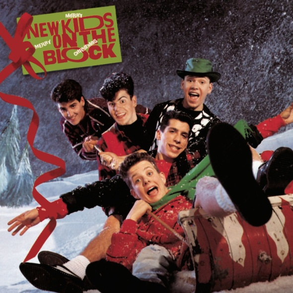 New Kids On The Block - Merry, Merry Christmas (1989) album
