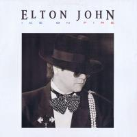 POP RESCUE: 'Ice On Fire' by Elton John (Vinyl, 1985)