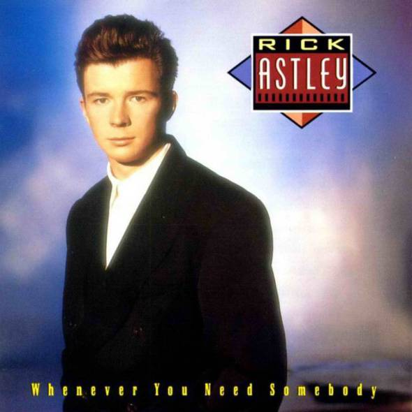 Rick Astley - Whenever You Need Somebody (1987) album