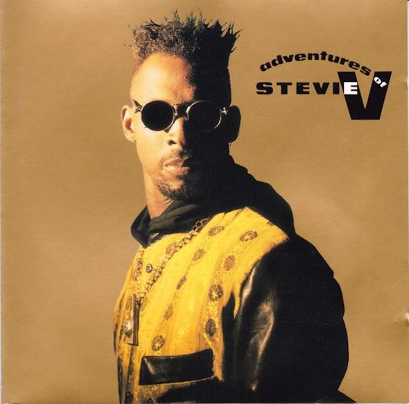Stevie V's 1990 'The Adventures Of Stevie V' album cover