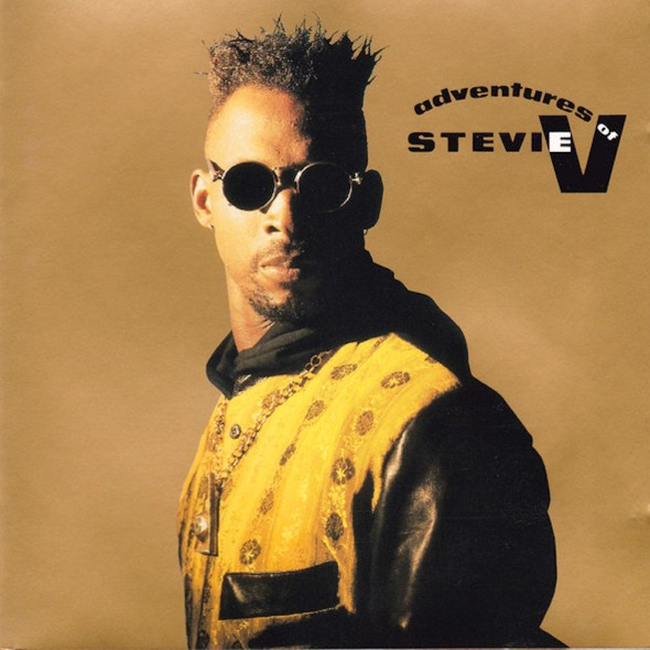 Stevie V's 1990 'The Adventures Of Stevie V' album cover