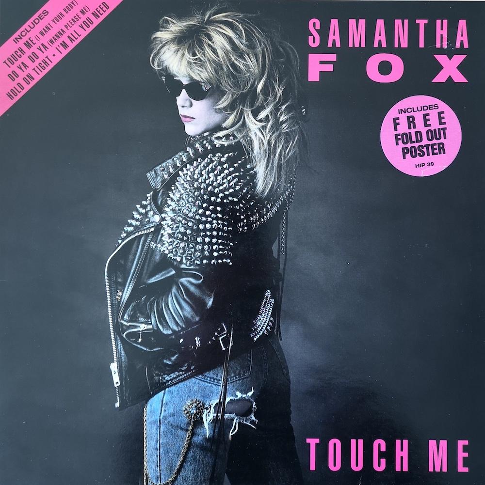 Samantha Fox's 1986 'Touch Me' album cover.