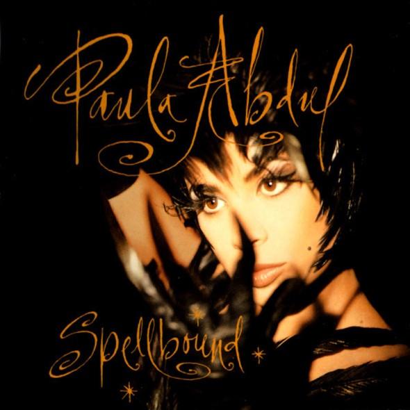 Paula Abdul's 1991 'Spellbound' album cover