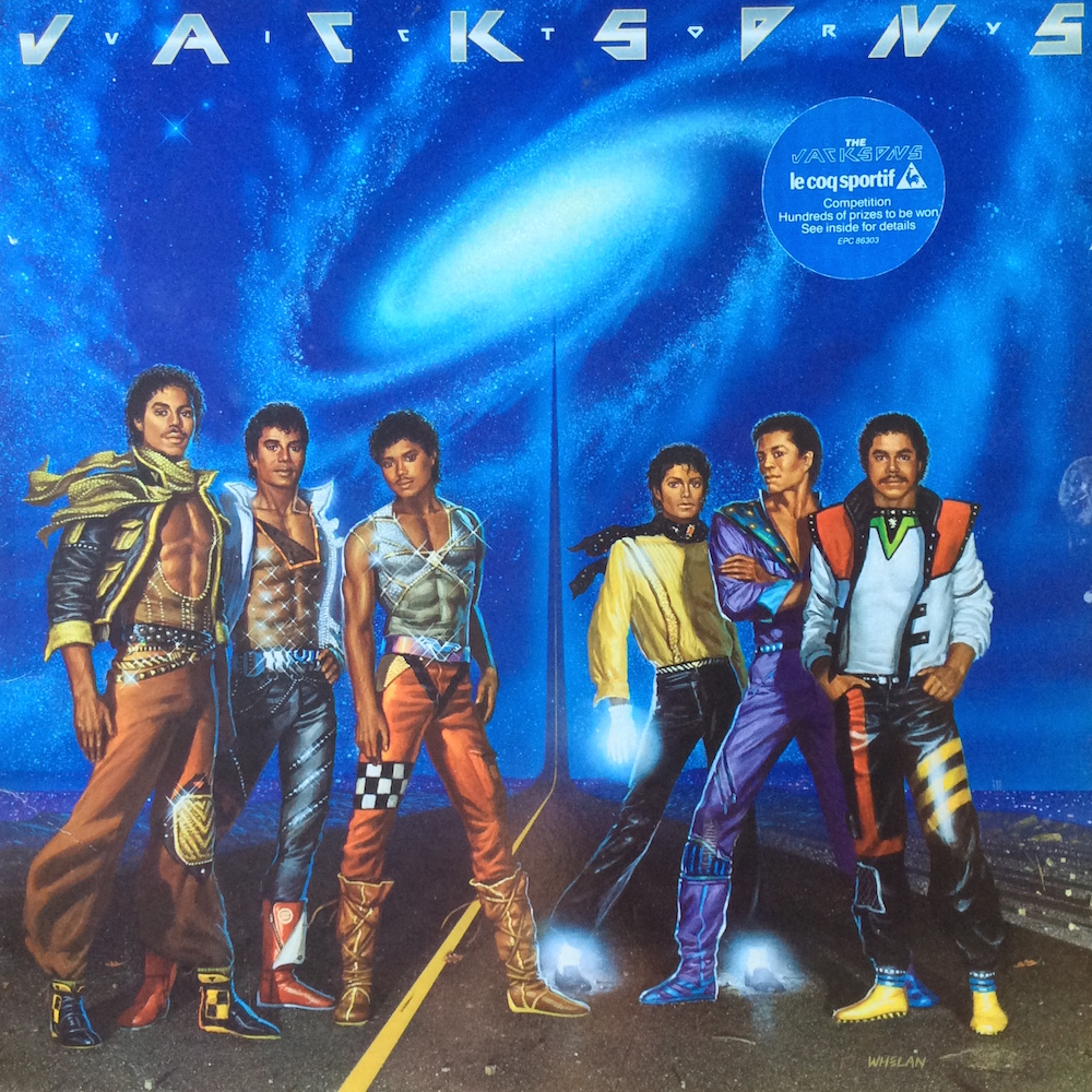 The Jacksons - Victory (1984) album cover
