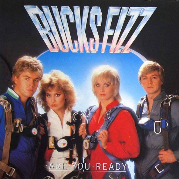 Bucks Fizz's 'Are You Ready' 1982 album cover
