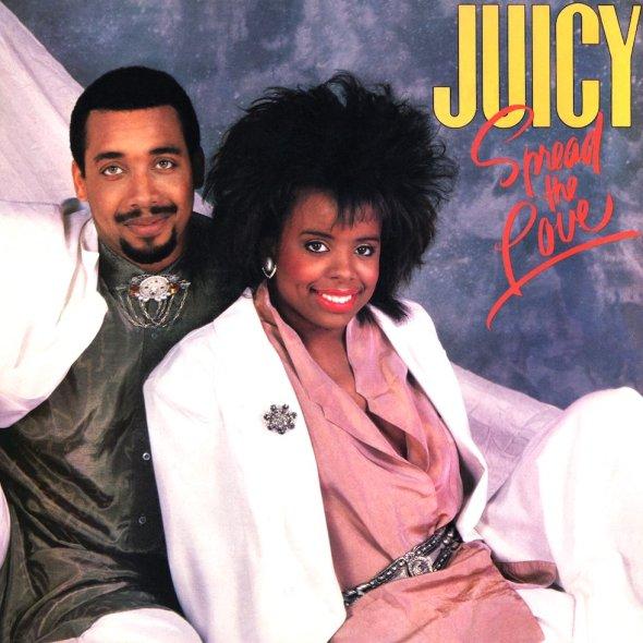 Juicy's 1987 'Spread The Love' album cover