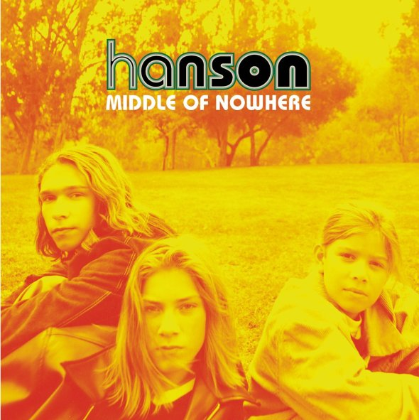 Hanson - Middle Of Nowhere album cover
