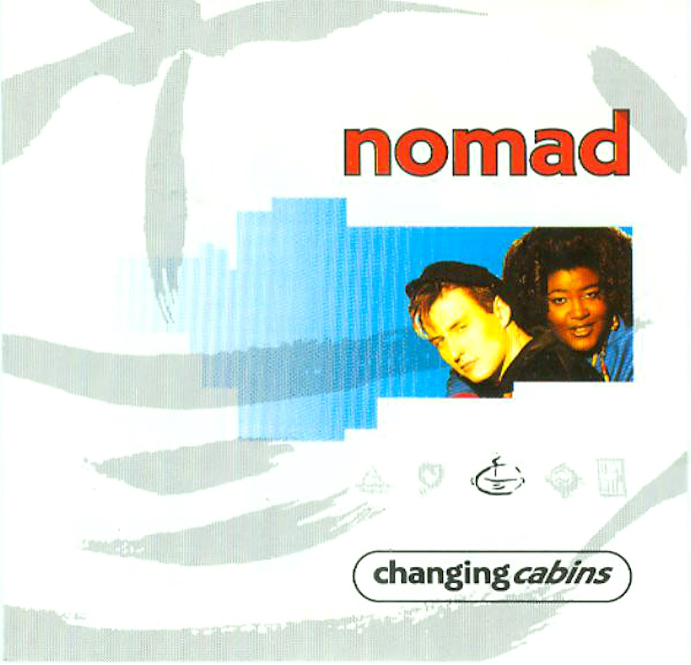 Nomad's 1991 'Changing Cabins' album cover