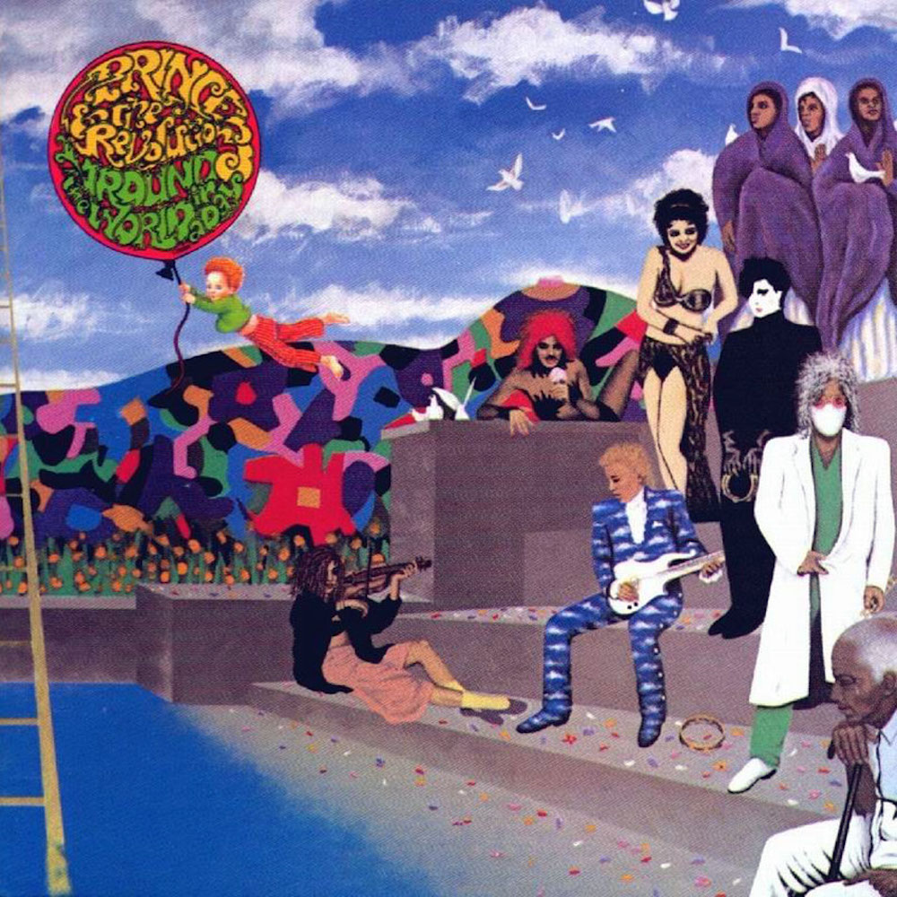 Prince and The Revolution - Around The World In One Day (1985) album