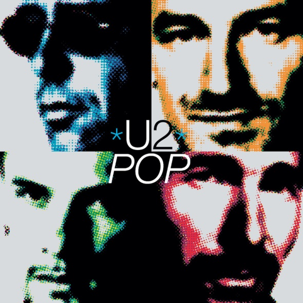 U2 - Pop (1997) album cover