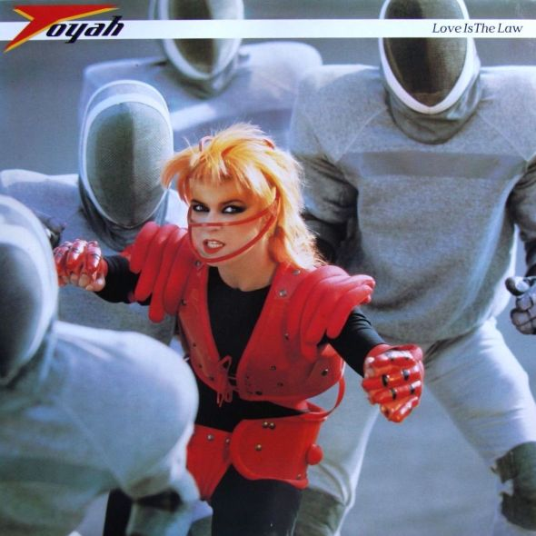 Love Is The Law - Toyah album cover