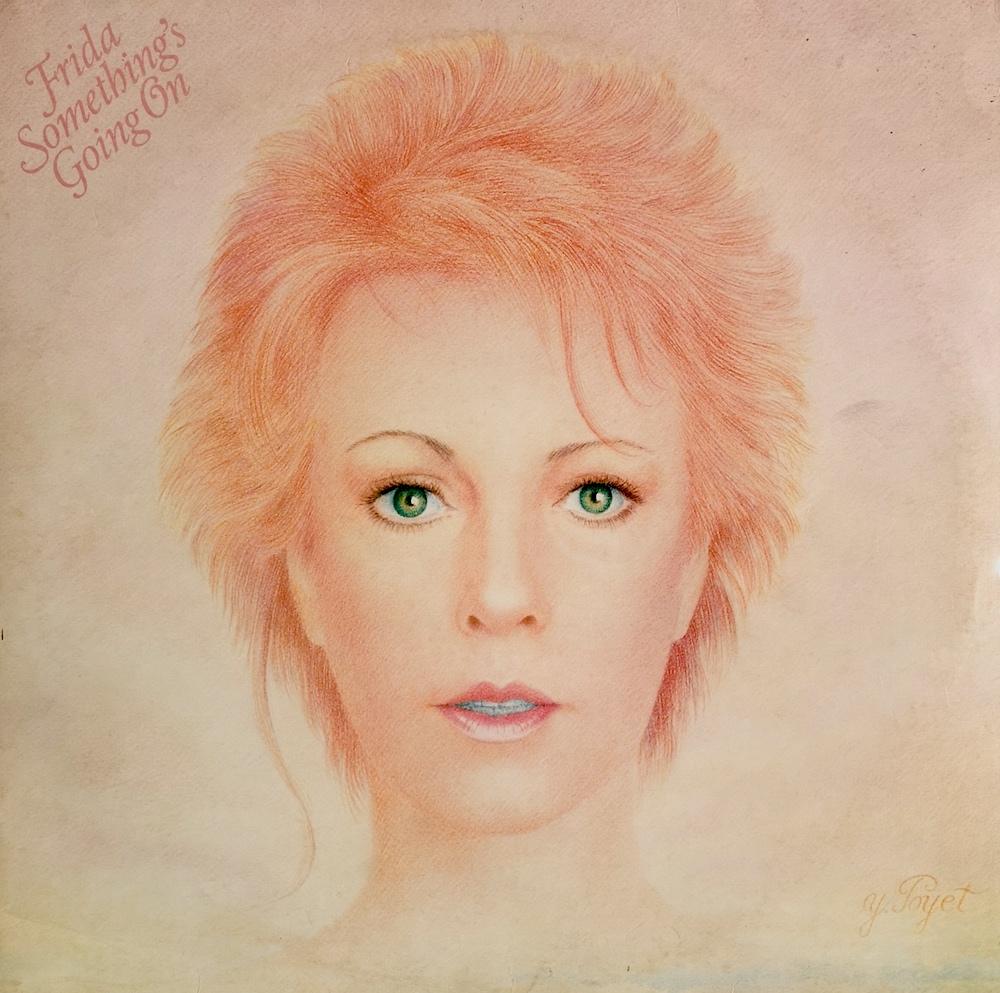 Frida - Something's Going On (1982) album cover