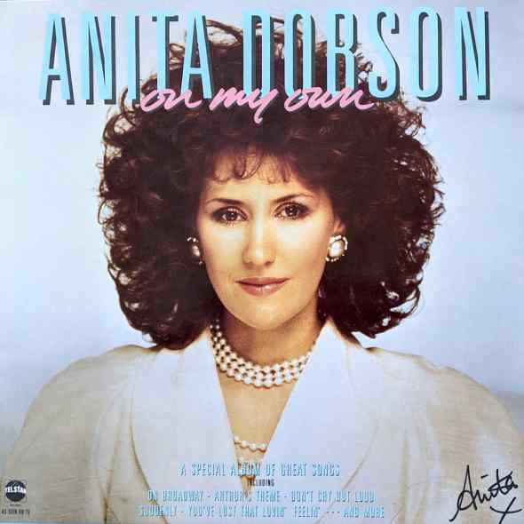 Anita Dobson - On My Own (1986) album cover