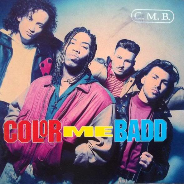 C.M.B by Color Me Badd (1991) album cover