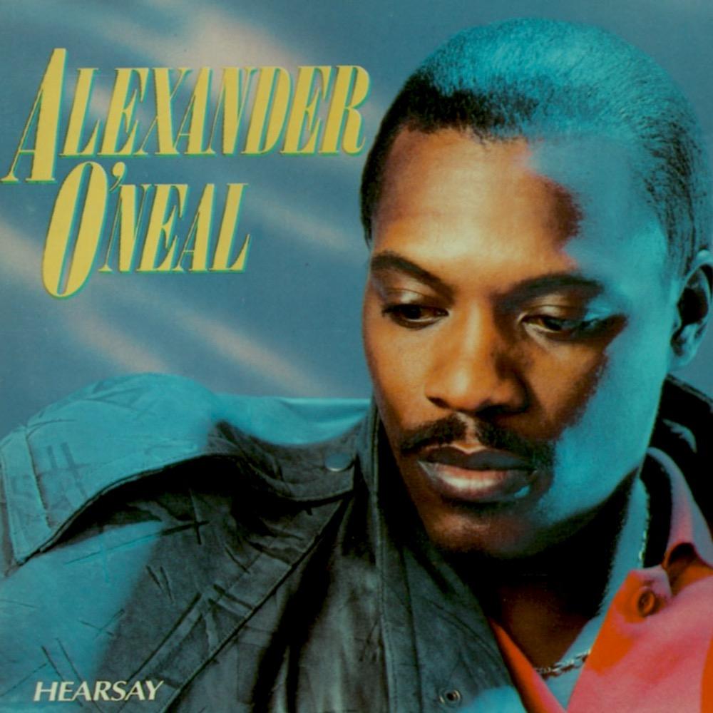 Alexander O'Neal - Hearsay (1987) album cover
