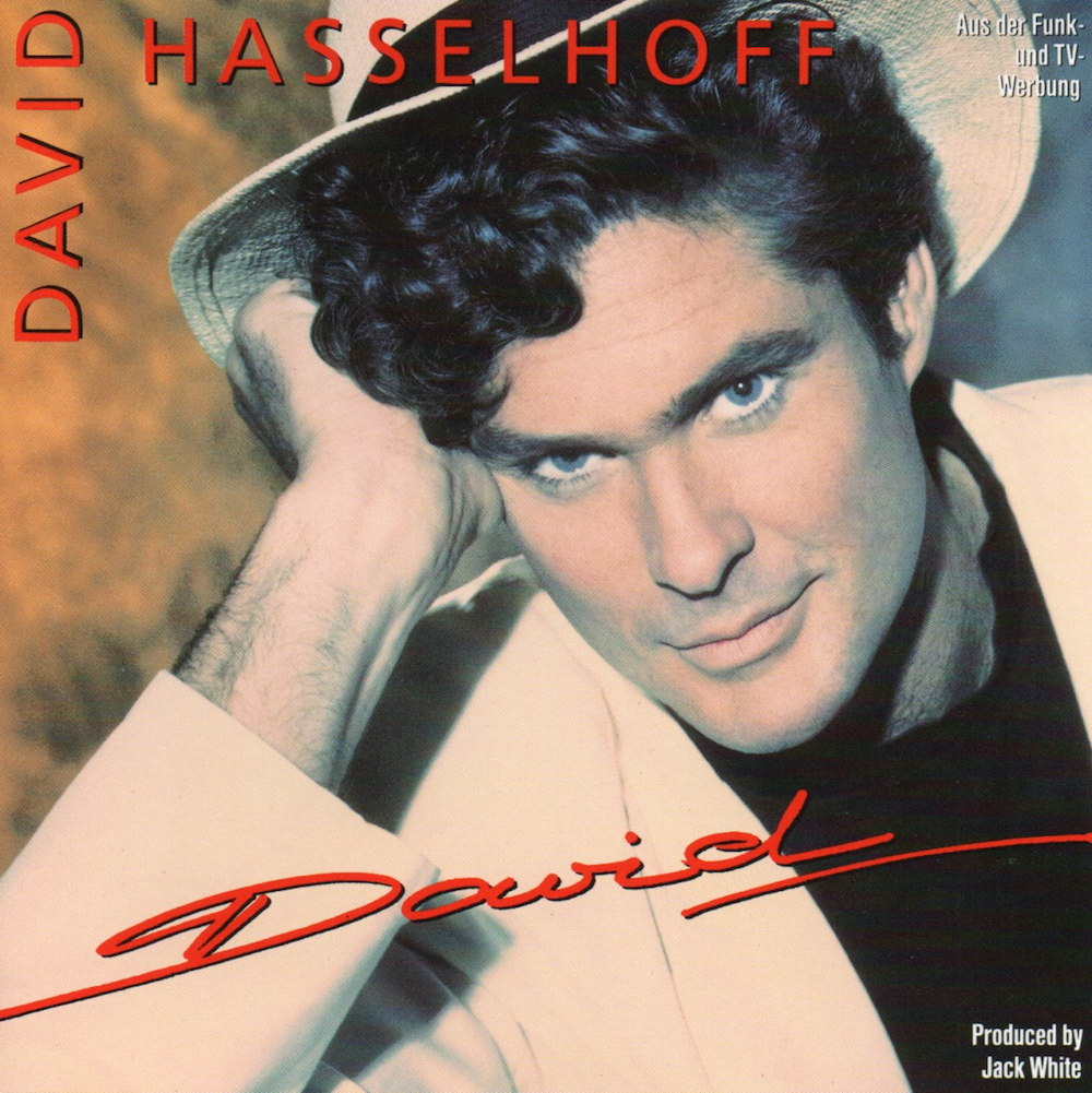 Cover of David (1991) album by David Hasselhoff