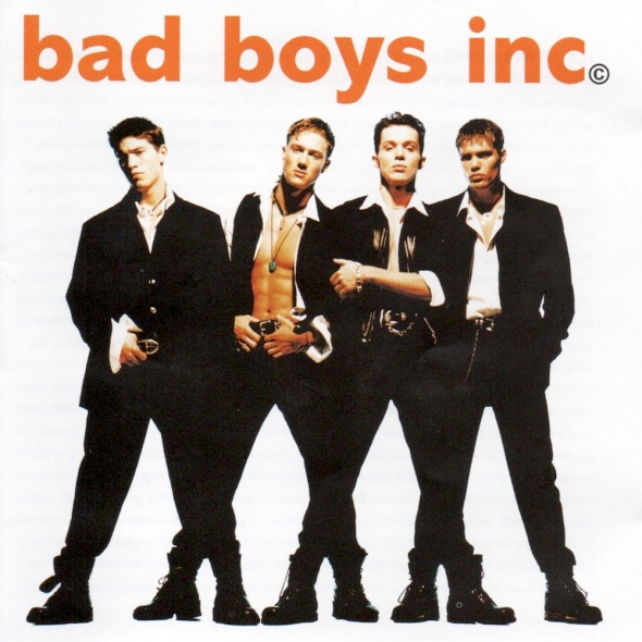Bad Boys Inc. - Bad Boys Inc. (1994) album cover