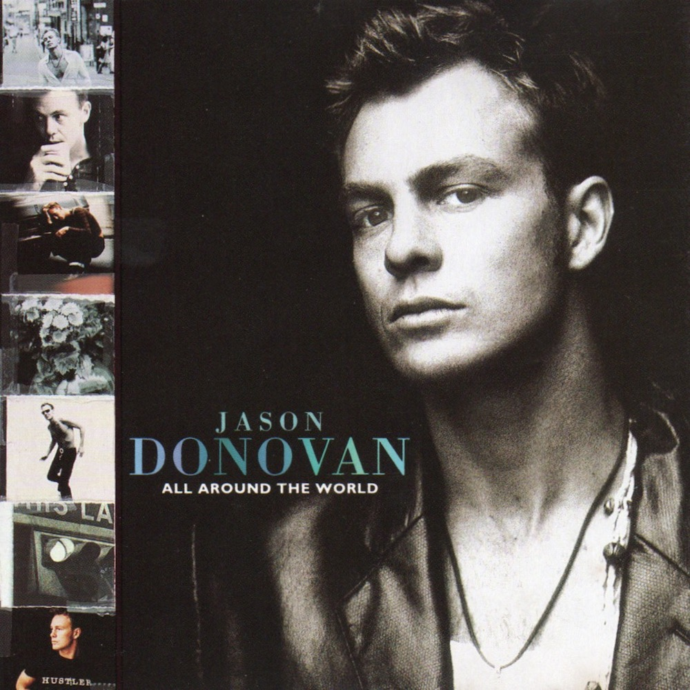 Jason Donovan - All Around The World (1993) album cover