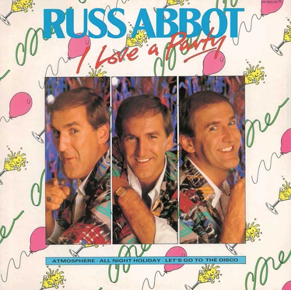 Russ Abbot - I Love A Party (1985) album cover