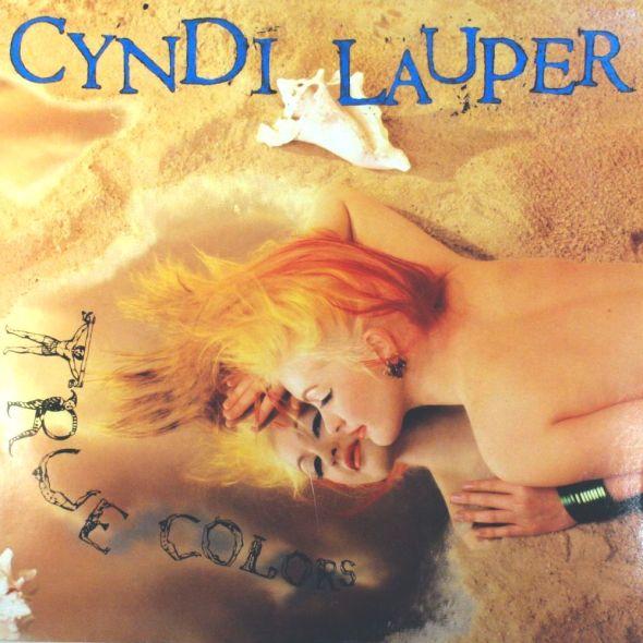 Cyndi Lauper - True Colors (1986) album cover