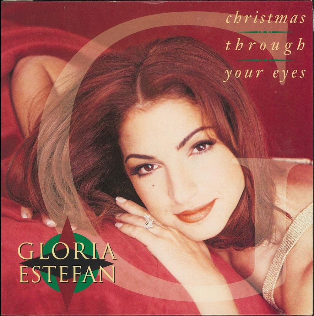 Gloria Estefan - Christmas Through Your Eyes (1993) album cover