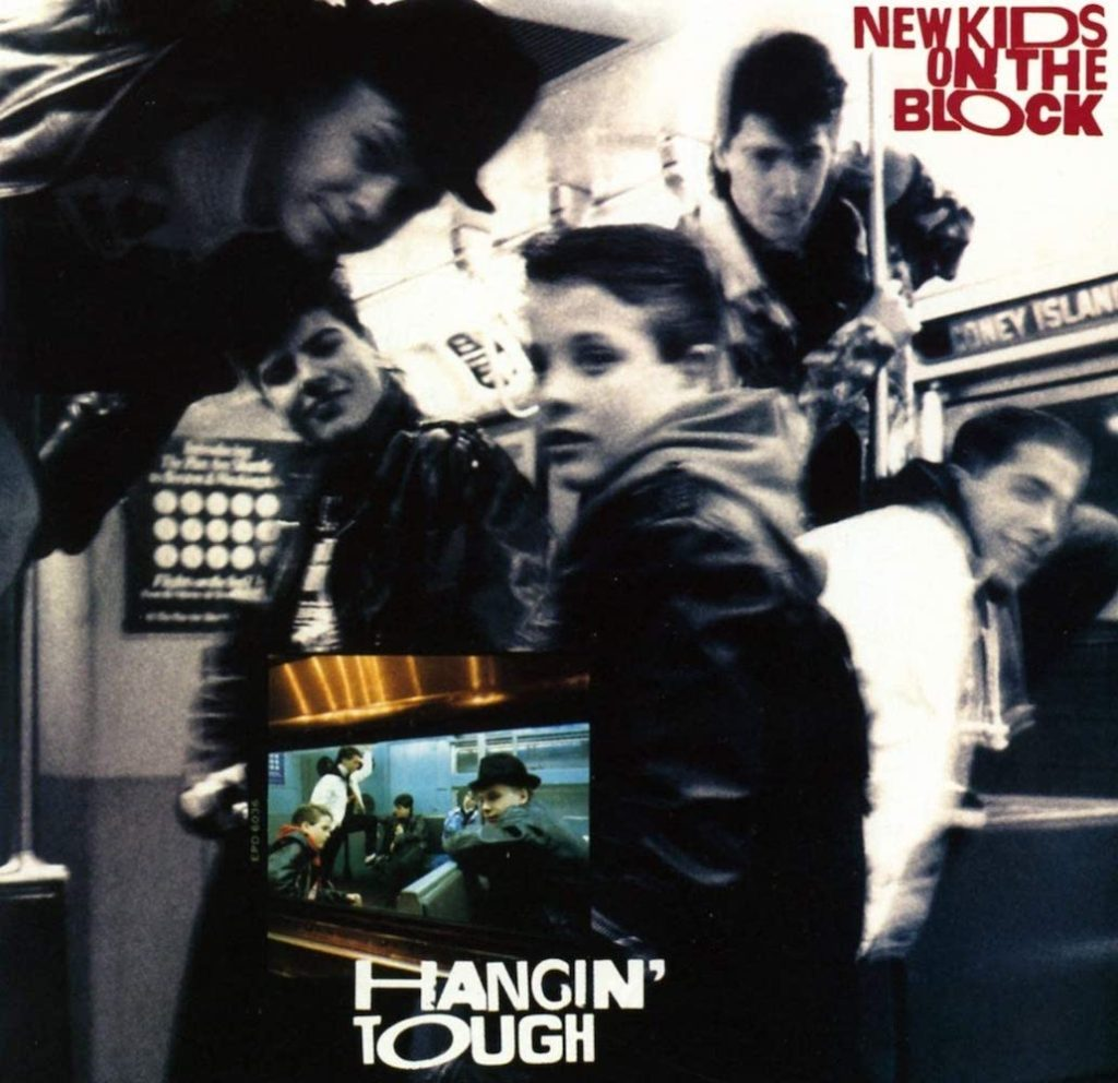 New Kids On The Block - Hangin' Tough (1988) album cover