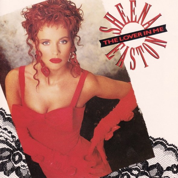 Sheena Easton - The Lover In Me (1988) album cover