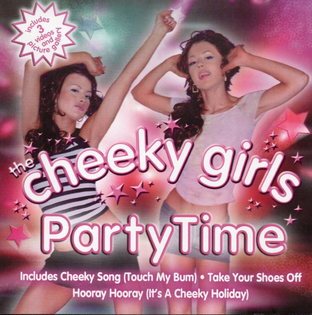 The Cheeky Girls - PartyTime (2003) album cover