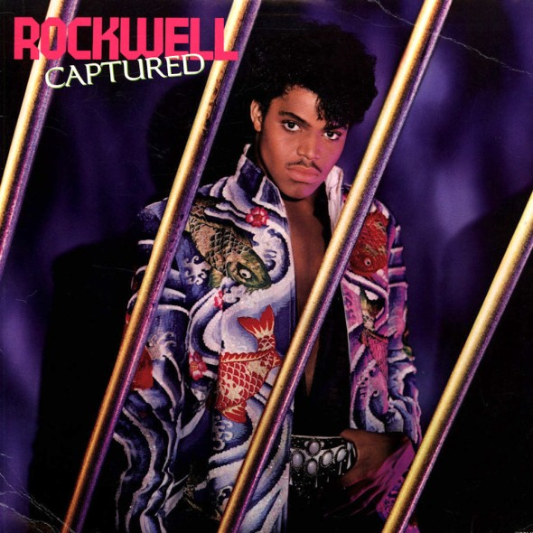 Rockwell - Captured (1985) album cover