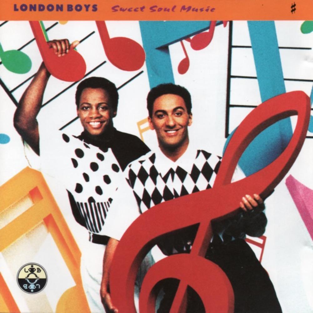 London Boys - Sweet Soul Music (1991) album cover